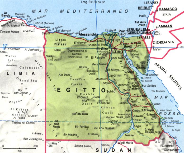 CArtina dell'Egitto