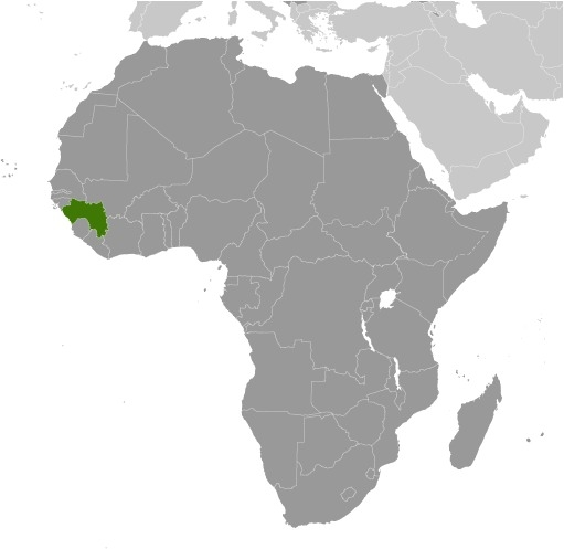 Luogo della Guinea