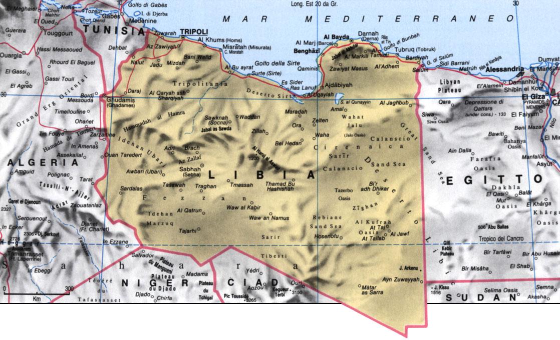 Libia Italia Cartina.Geografia Africa Territorio Storia Economia Libia