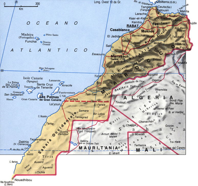 CArtina del Marocco