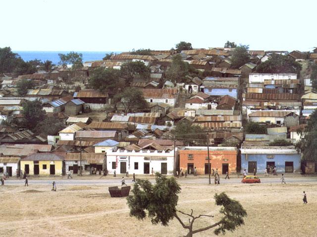 Il vecchio quartiere di Mogadiscio