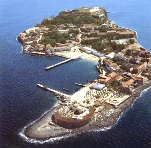 L'isola di Gorée, in Senegal