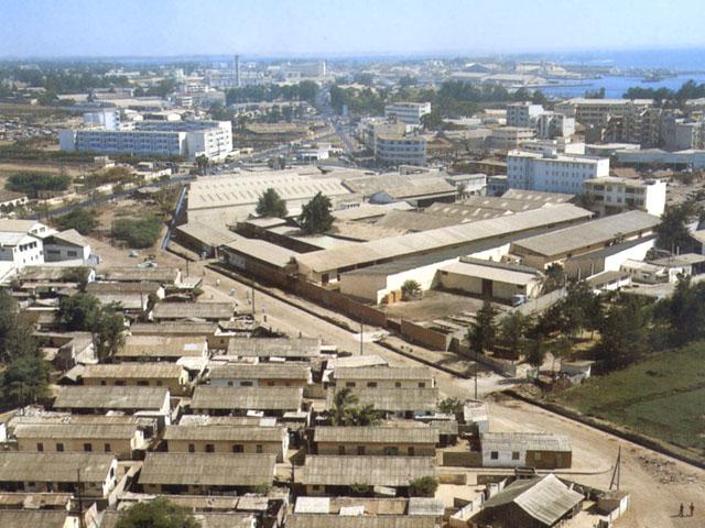 Veduta di Dakar