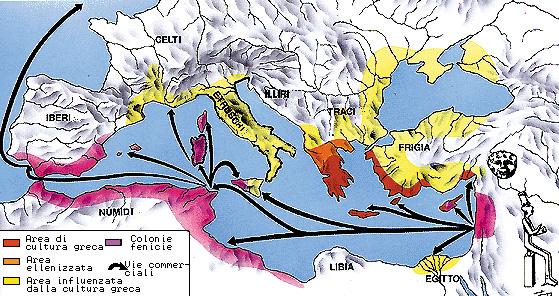L'espansione dei Fenici