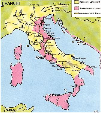 L'Italia sotto i Longobardi