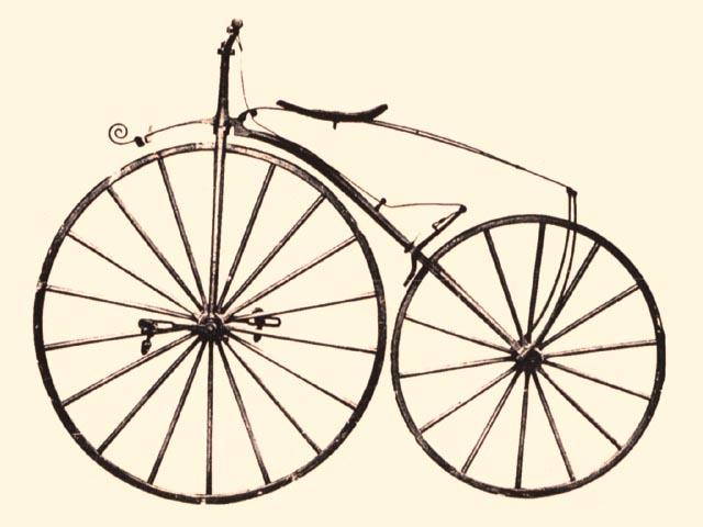 Velocipede Michaux, dal nome del carrozziere che lo ideò nel 1861