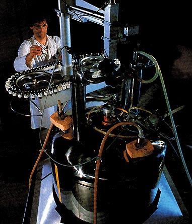 Spettroscopio di risonanza magnetica nucleare