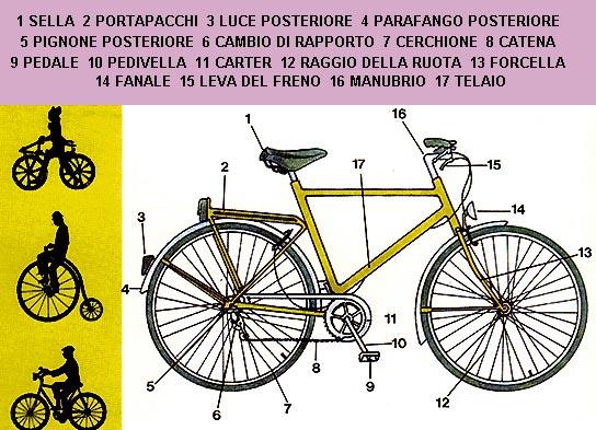 Schema di bicicletta