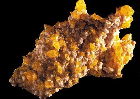 Zolfo con Calcite