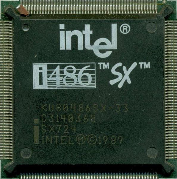 Processore Intel 486sx