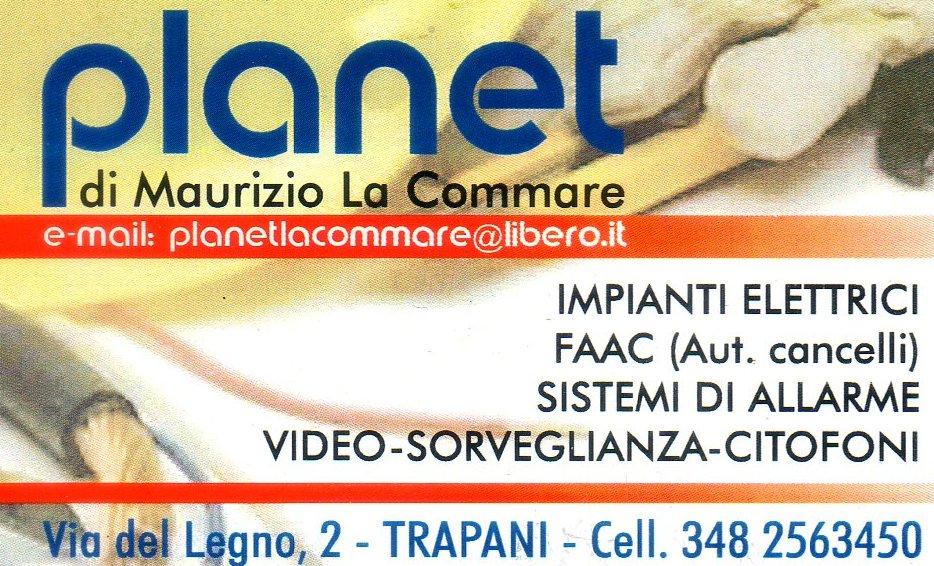 Planet di Maurizio La Commare Impianti Elettrici FAAC Cancelli Automatici Sistemi di Allarme Video Sorveglianza Citofoni