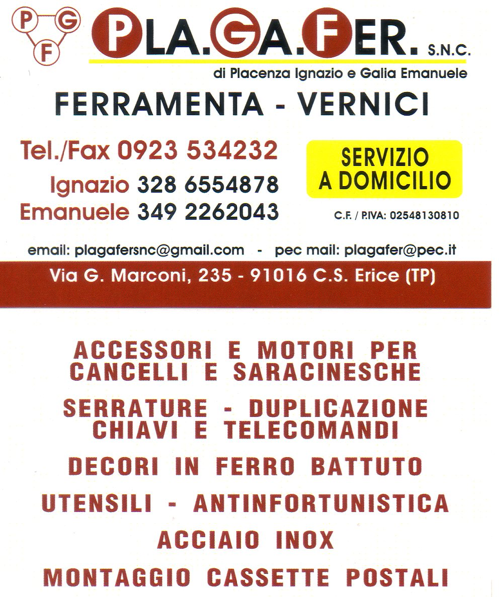 Trapani marsala erice petrosino custonaci mazara del vallo for Volantino bricofer marsala