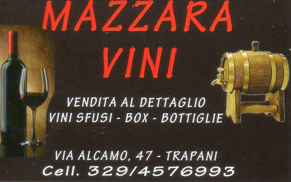 Mazara Vini Vendita al Dettaglio Vini Sfusi In Box In Bottiglie